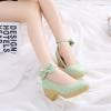 Preorder รองเท้าแฟชั่น สไตล์เกาหลี 34-43 รหัส 9DA-4191