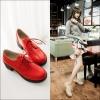 Preorder รองเท้าแฟชั่น สไตล์เกาหลี 34-43 รหัส 9DA-3961
