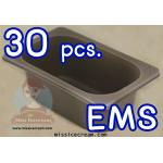 PTT30E ถาดพลาสติกใส่ไอศกรีมขนาด 1/4 30 ใบ รวมค่าจัดส่ง EMS