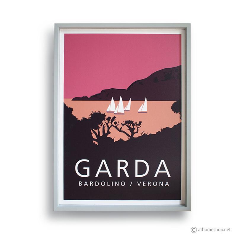 Reproduction Vintage Poster - GARDA