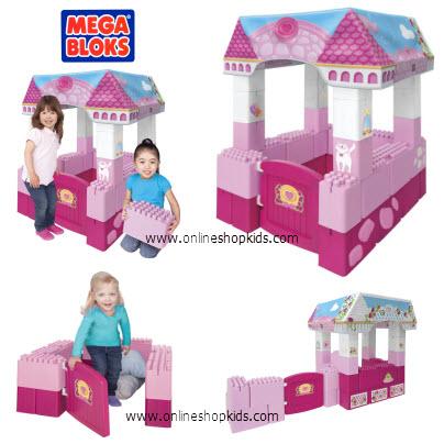 ตัวต่อเมก้าบล็อก-จัมโบ้ Mega Bloks Mega Play My Fairytale Castle