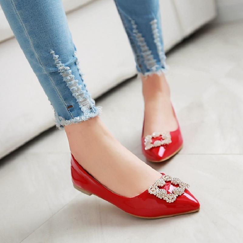 Preorder รองเท้าส้นเตี้ย 30-48 รหัส N5-9344