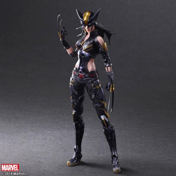 เปิดจอง PlayArts Kai Marvel Universe Variant - X-Men - X-23 (มัดจำ 500 บาท)