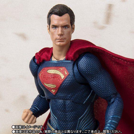 เปิดจอง S.H. Figuarts Justice League - Superman TamashiWeb Exclusive (มัดจำ500 บาท)
