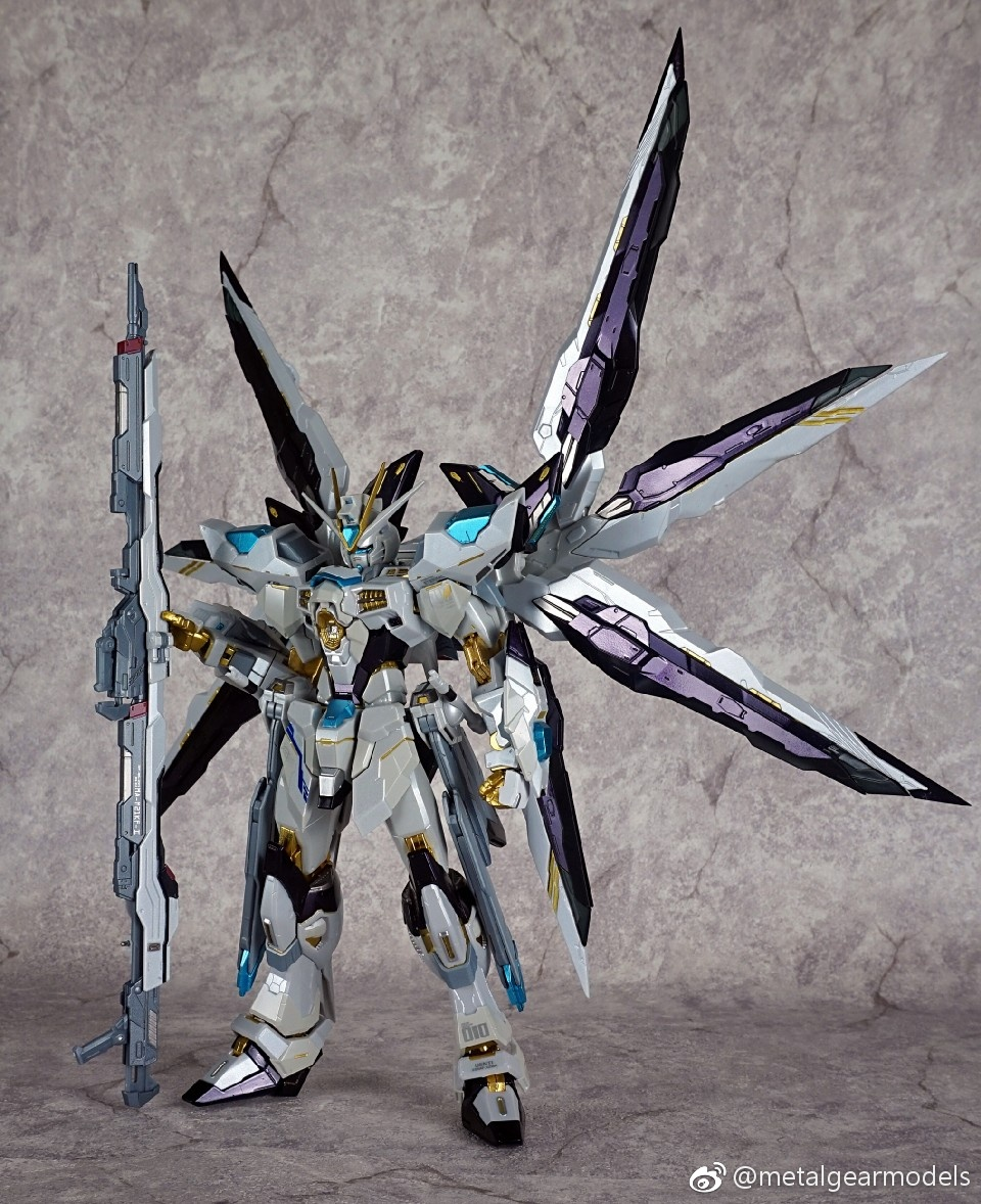 เปิดจอง Metalgearmodels Metalbuild Strikefreedom Gundam Sapphire color ver.