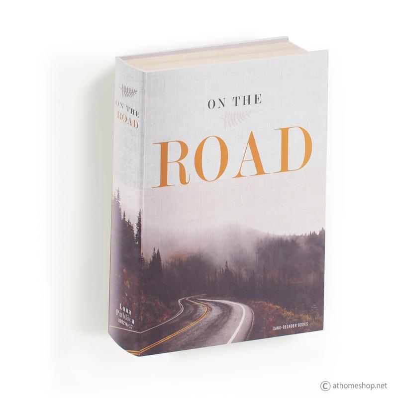 ตู้แขวนผนังทรงหนังสือ ปก ON THE ROAD