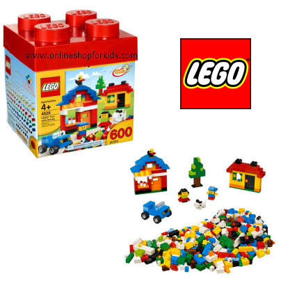 ตัวต่อเลโก้ Lego Fun with Bricks Building Set 600 pcs.