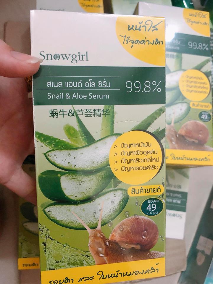 Snowgirl Snail & Aloe Serum