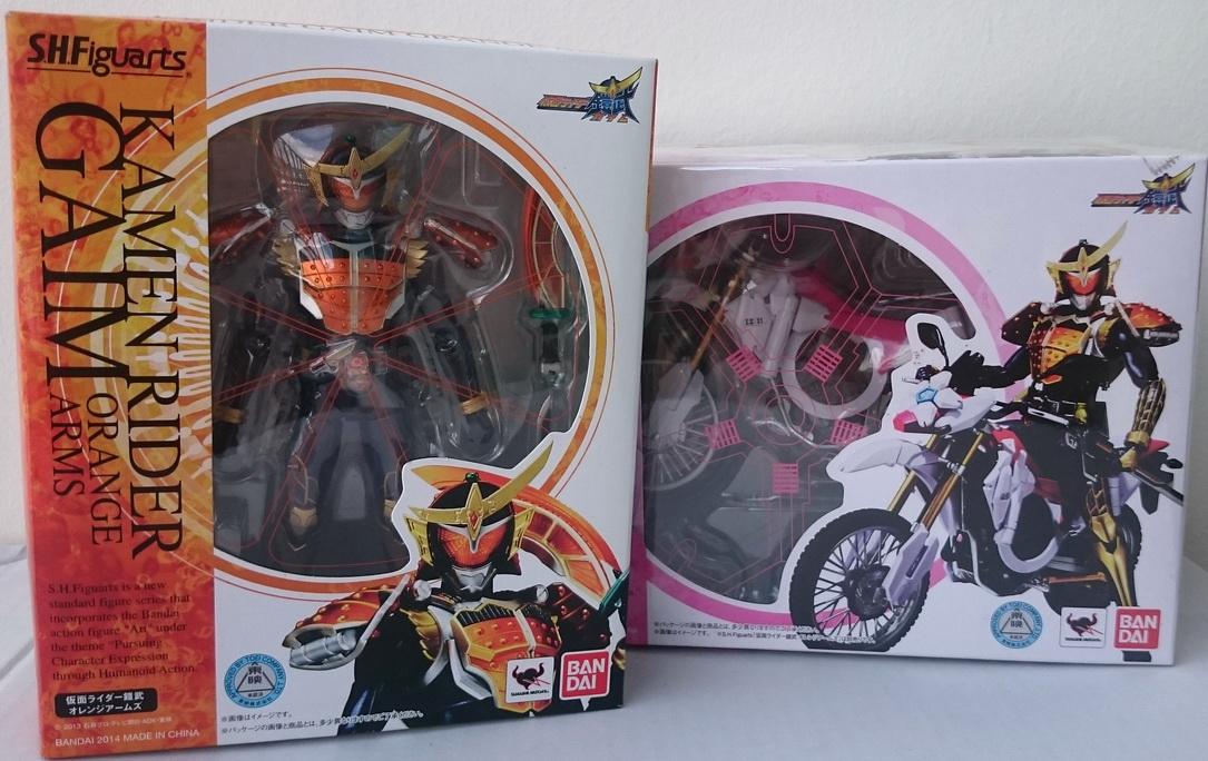 S.H.FIGUARTS Kamen Rider Gaim orange arm + Sakura Hurricane