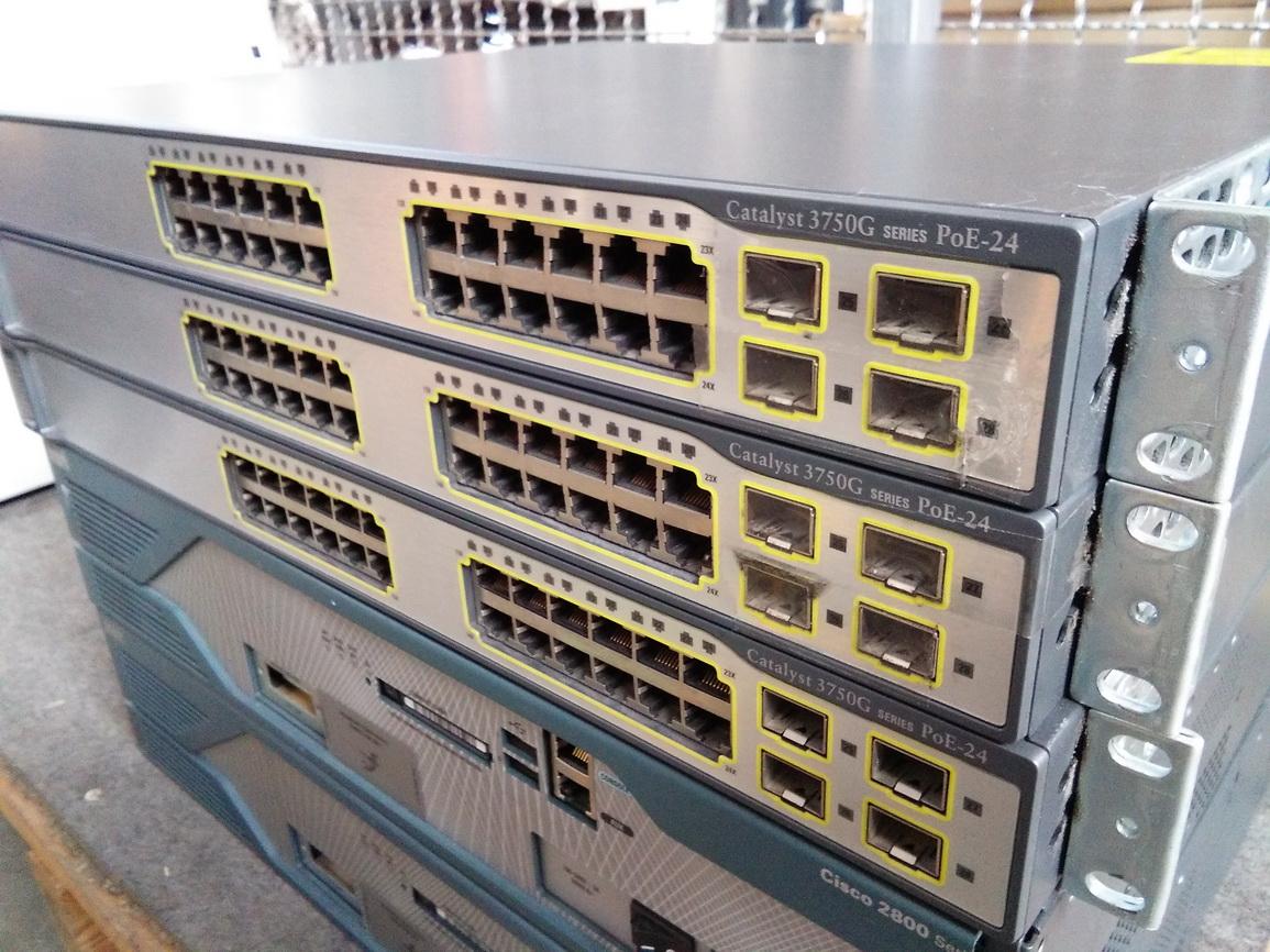 Cisco Catalyst 3750G PoE-24