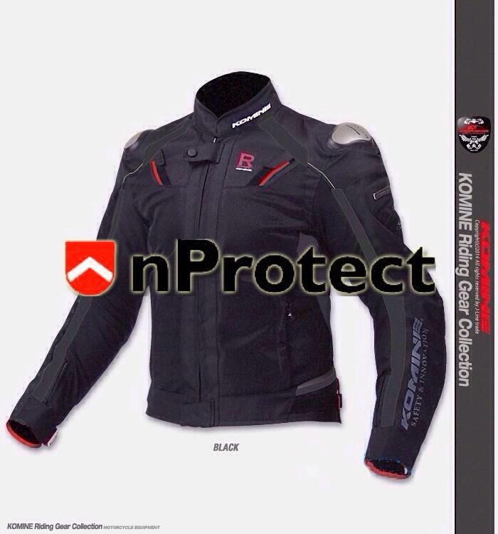เสื้อการ์ด KOMINE JK-063 Titanium Mesh Jacket R-Spec 2015