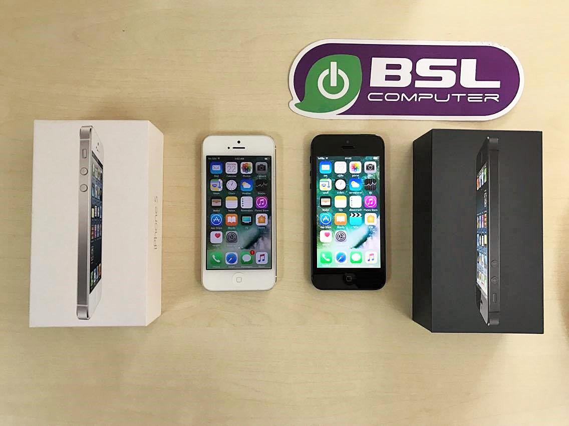 iPhone 5 เครื่องแท้ มือสอง ราคาพิเศษ