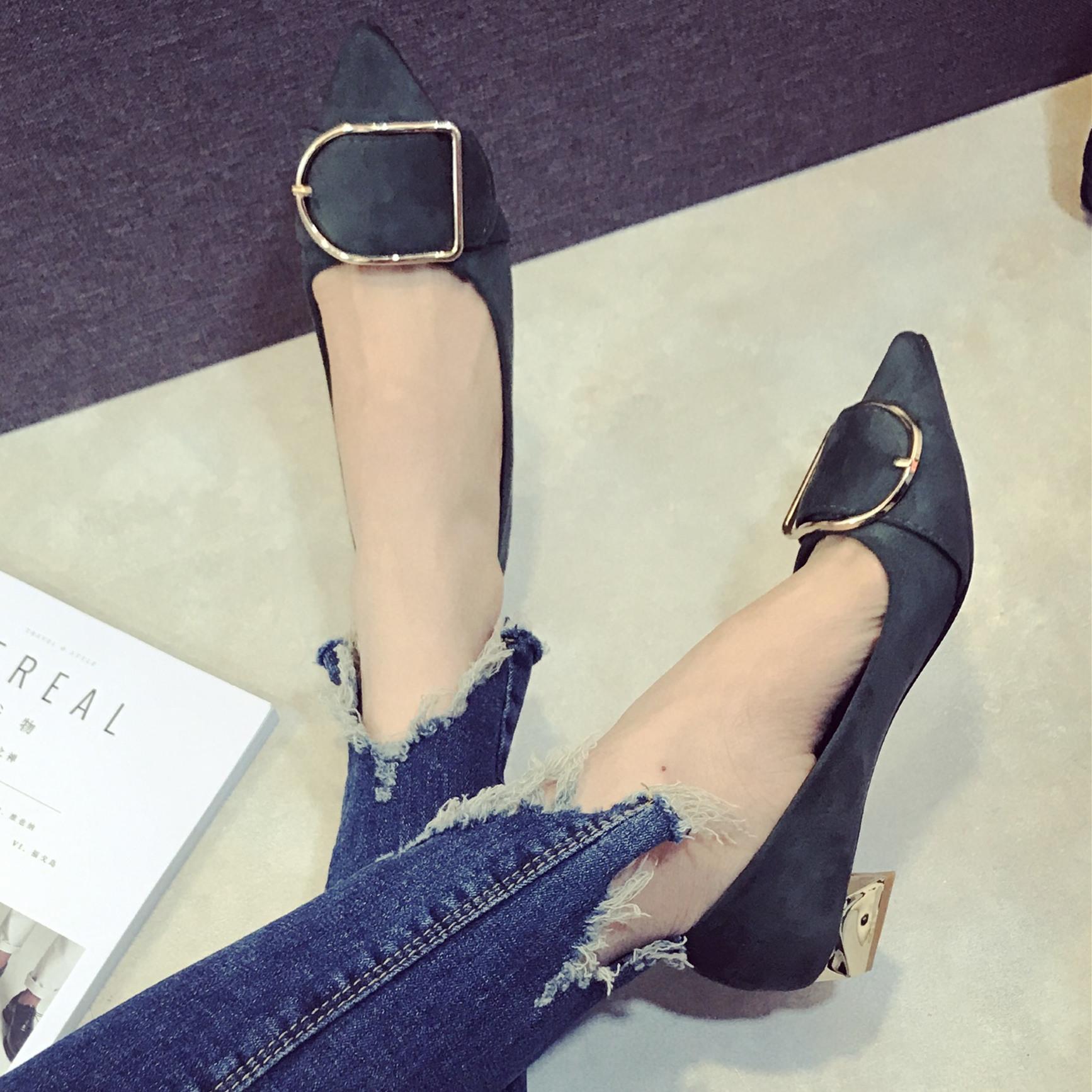 Preorder รองเท้าแฟชั่น สไตล์เกาหลี 35-39 รหัส GB-0631