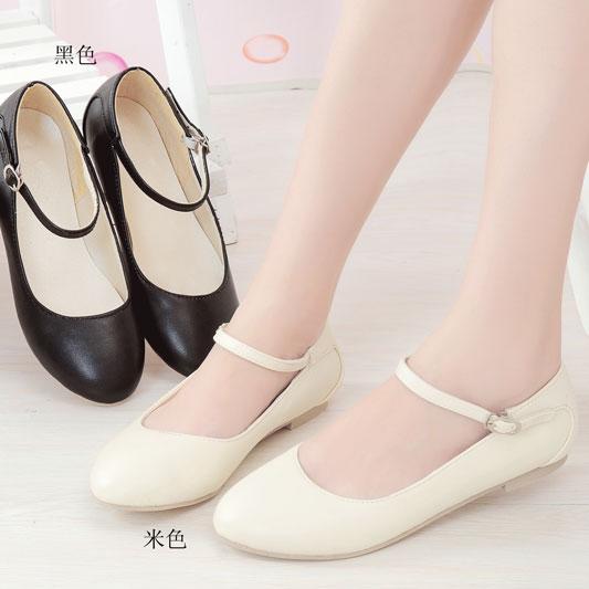 Preorder รองเท้าส้นเตี้ย สไตล์เกาหลี 34-43 รหัส 9DA-6567