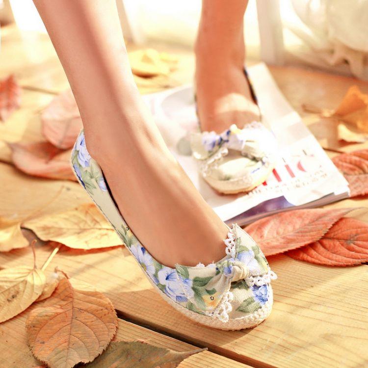 Preorder รองเท้าส้นเตี้ย 30-44 รหัส 9DA-7909