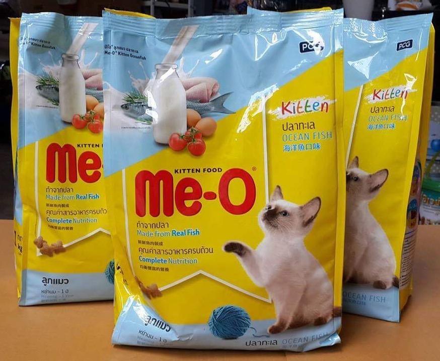 Me-o kitten มีโอ ปลาทะเล สำหรับลูกแมว ขนาด1.1kg 140รวมส่ง