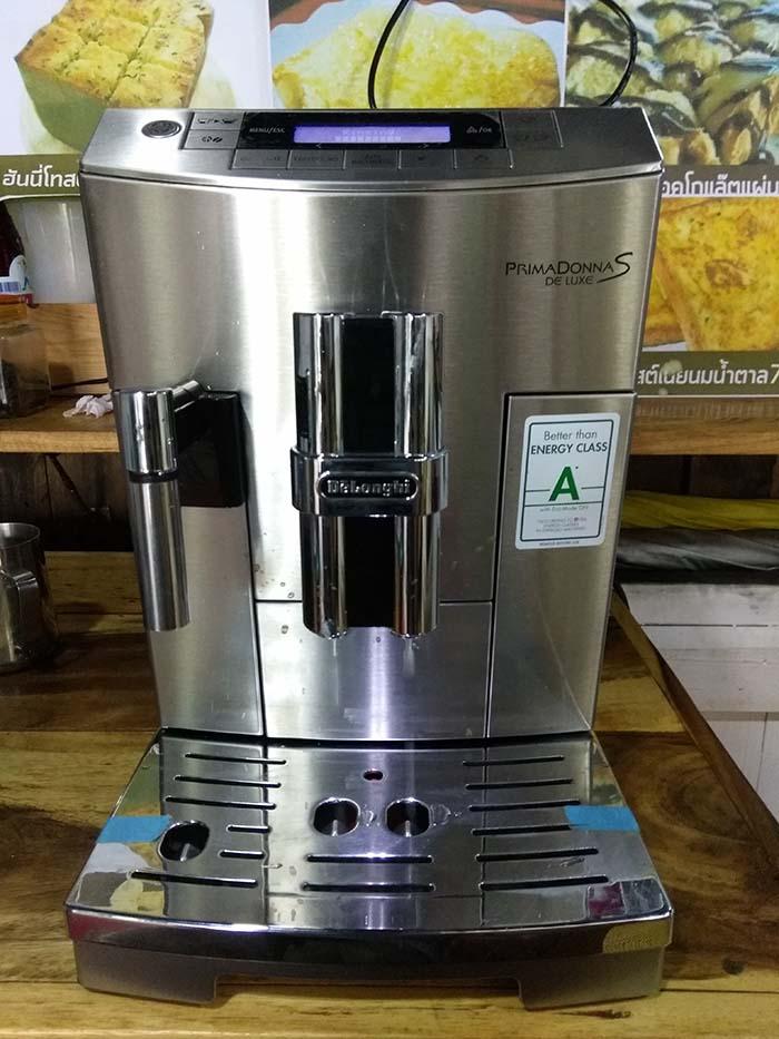ขายเครื่องชงกาแฟอัตโนมัติ DeLonghi PRIMADONNA S DE LUXE ECAM 26.455.M มือสอง [ขายแล้ว]