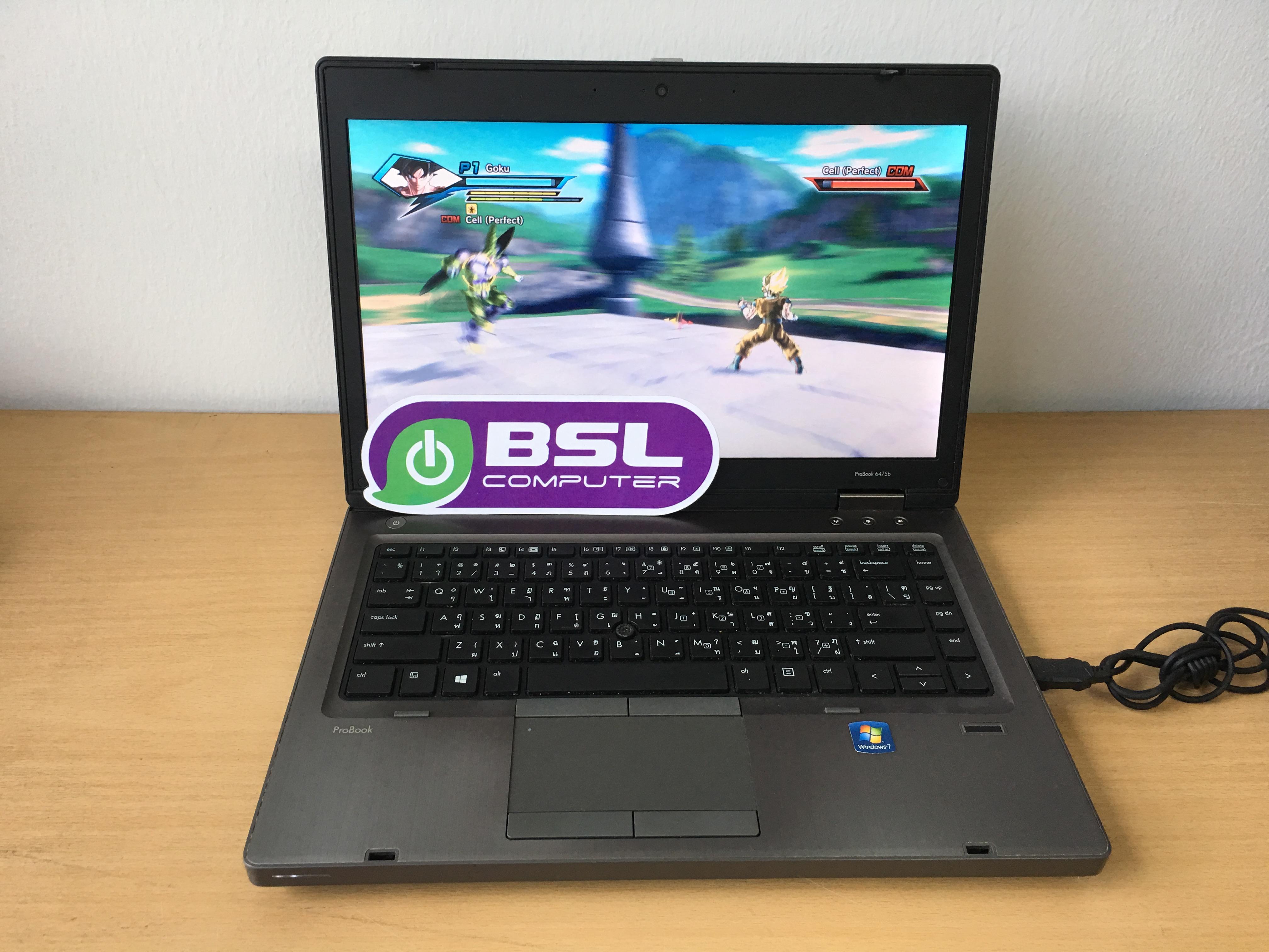 Notebook HP การ์จอแยก เล่นเกมส์มัน Probook 6475b