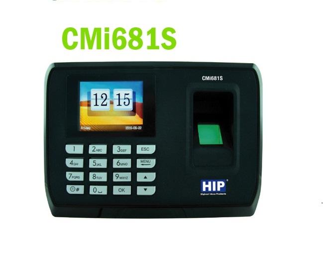 เครื่องสแกนลายนิ้วมือ HIP CMI681s เครื่องสแกนนิ้ว พร้อมคุณสมบัติ