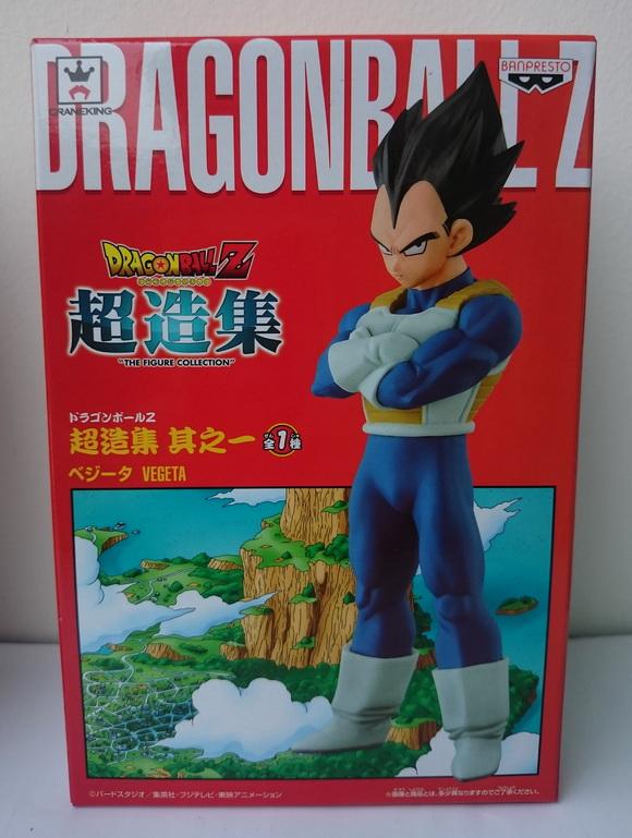Dragonball Z figure collection Vegeta