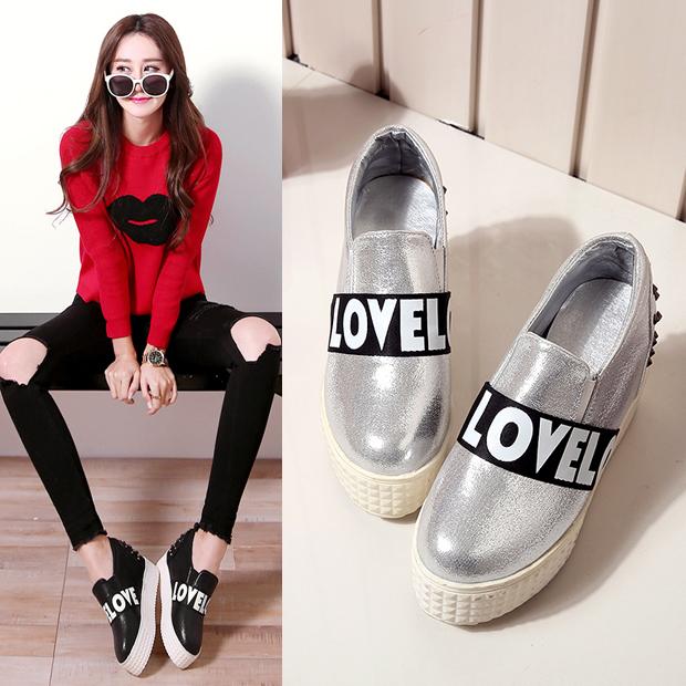 Preorder รองเท้าแฟชั่น รองเท้าส้นหนา 31-43 รหัส 9DA-8846