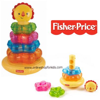 ห่วงโยน Fisher-Price Light-Up Lion Stacker