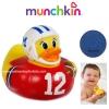 เป็ดวัดอุณหภูมิในน้ำ Munchkin White Hot Super Safety Bath Ducky, American Football