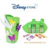 สีเมจิก พร้อมกระเป๋าแบบม้วน Tinker Bell Leaf Marker Roll Art Set