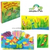 หนังสือนิทาน Ten Wriggly Wiggly Caterpillars