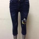 กางเกงยีนส์ฮ่องกงขา 5 ส่วน Code#9474