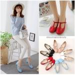 Preorder รองเท้าแฟชั่น สไตล์เกาหลี 32-43 รหัส 9DA-2665