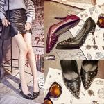 Preorder รองเท้าแฟชั่น สไตล์เกาหลี 32-43 รหัส 9DA-7393