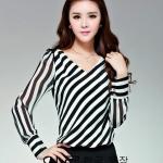 รหัส B81 Koreacloset เสื้อสตรี