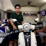 (( ขายแล้ว )) Grand filano 125 cc. สีขาว พิมนิยม ขอบคุณน้องเจกับน้ององุ่น ที่มาอุดหนุนครับ