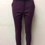 กางเกงขา 5 ส่วน ผ้าดับเบิ้ล สีเปลือกมังคุด