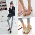 Preorder รองเท้าแฟชั่น สไตล์เกาหลี 34-43 รหัส 9DA-9116