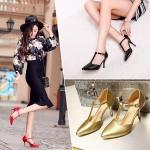 Preorder รองเท้าแฟชั่น สไตล์เกาหลี 30-48 รหัส 9DA-5420