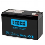 "Battery 7.2Ah 12V ""ETECH"""