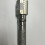"STRAIGHT PIPE, Outlet: Adjusting Nut G 1/2"", Length: 100mm, 316Ti SS"