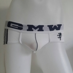 GMW Briefs Bikini Briefs สีขาว