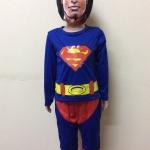 ชุดซุปเปอร์แมน (Superman) มีหน้ากาก มีไฟกระพริบ