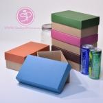 ฝาสีต่างๆ ขนาด 11.6 x 19.5 x 8.0 ซม. (บรรจุ 50 กล่องต่อแพ็ค)