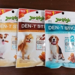 ขนมขัดฟันเจอร์ไฮ DEN-T สุนัข คละได้สามรส เบคอน นม ทูน่า 70 กรัม หนึ่งโหล 518รวมส่ง