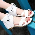 Preorder รองเท้าแฟชั่น สไตล์เกาหลี 34-43 รหัส 9DA-6929