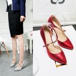 Preorder รองเท้าแฟชั่น สไตล์เกาหลี 33-43 รหัส N5-4594