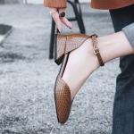 พรีอเดอร์ รองเท้าส้นเตี้ย 30-50 รหัส Y-1511