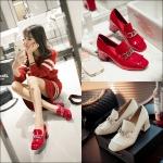 Preorder รองเท้าแฟชั่น สไตล์ เกาหลี 33-43 รหัส 9DA-6835