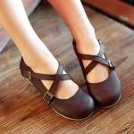 Preorder รองเท้าแฟชั่น สไตล์เกาหลี 34-43 รหัส PM-7524
