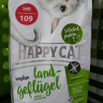 Happy cat sensitive glutenfree Land-Gefugel 300g. 159รวมส่ง