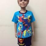 ชุดซุปเปอร์แมน SUPERMAN แขนสั้น-ขาสั้น